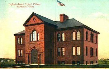 Oxford School old Postcard